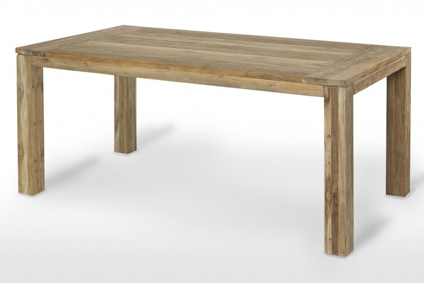 stół teakowy - idealne dopełnienie mebli ogrodowych rattanowych