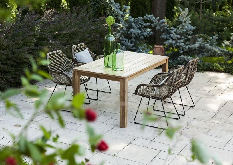 Meble ogrodowe rattanowe – funkcjonalne rozwiązania do Twojego ogrodu