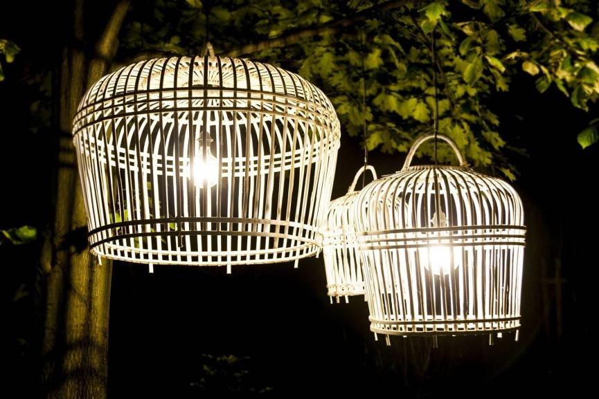 lampa bambusowa TOULOUSE idealny dodatek do zestawów rattanowych na taras