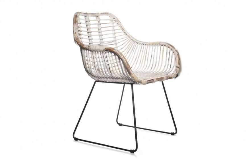fotel rattanowy LAVAL