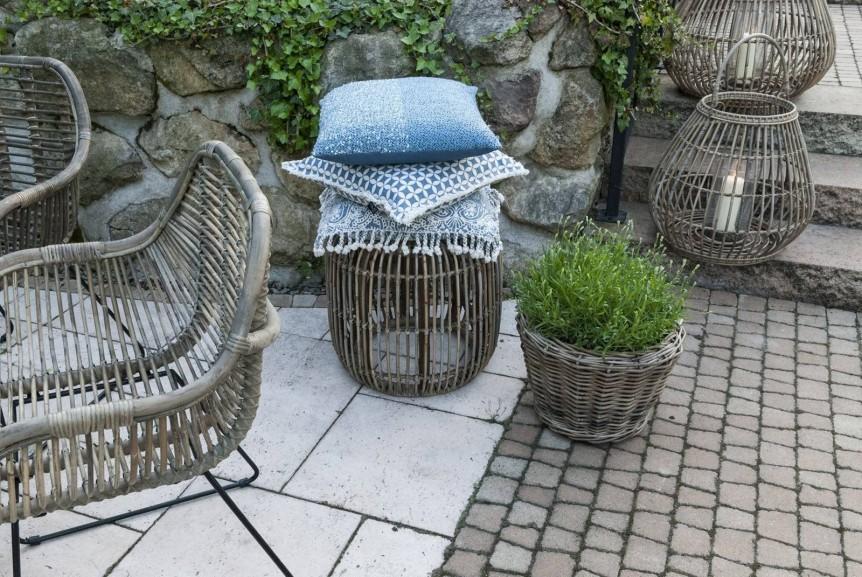 Zestaw mebli ogrodowych – rattan na modnym tarasie