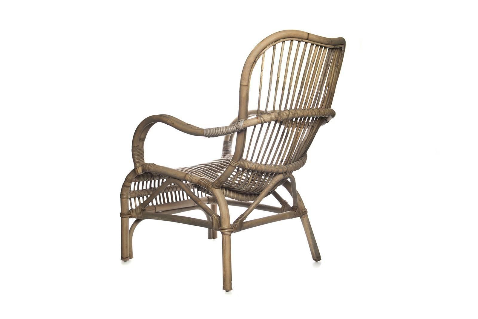 Fotel z rattanu ogrodowy CANNES