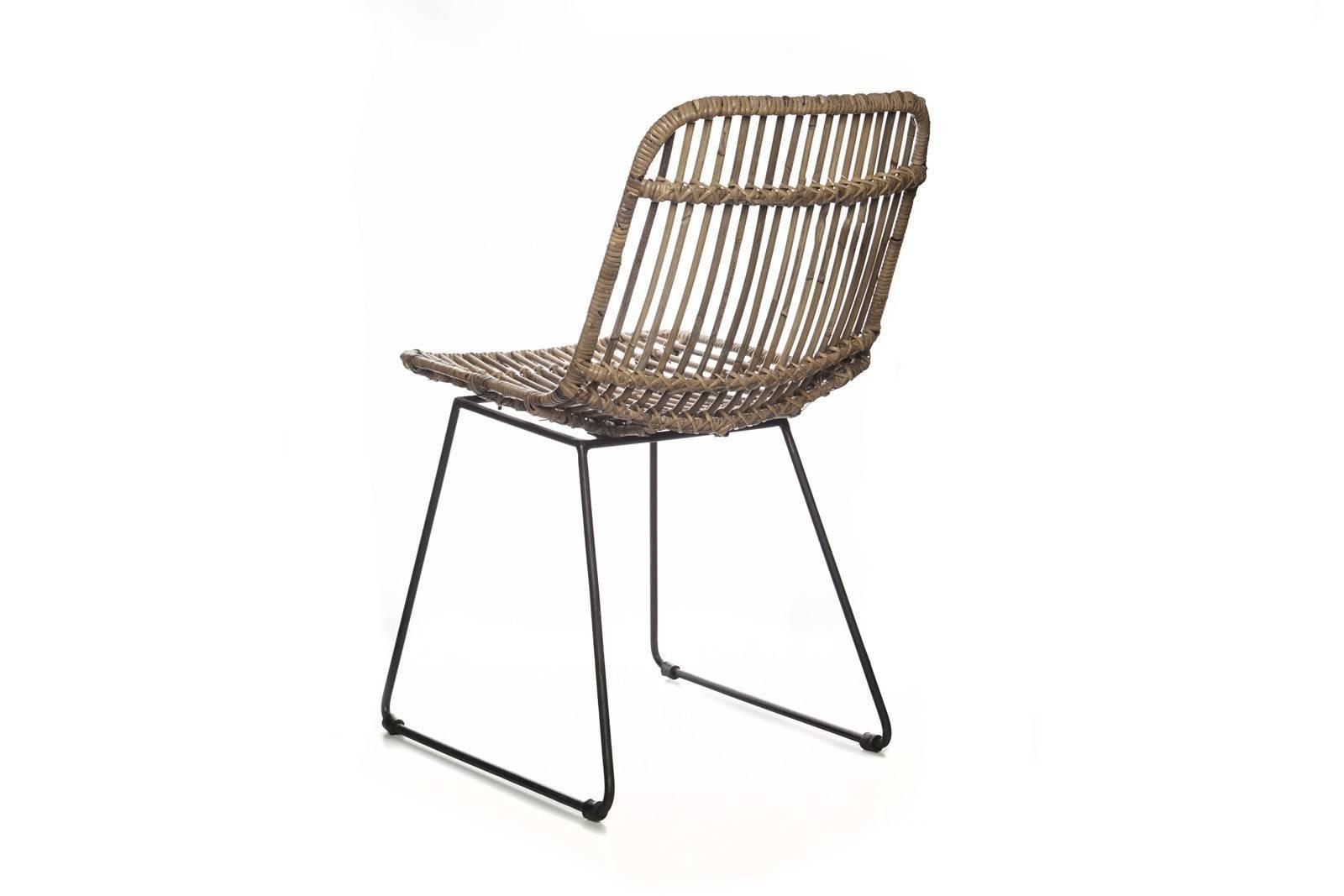 Krzesło z rattanu DINAN